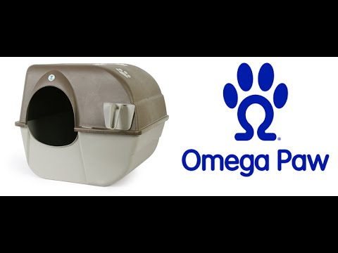 Omega Paw Roll'n Clean Self-Cleaning Cat Litter Box How to Use