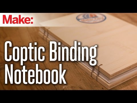 Build this Sturdy Notebook Using an Ancient Bookbinding Method