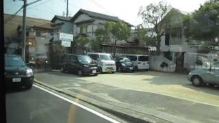 南海バス 和泉府中車庫前~和泉中央駅 側面展望