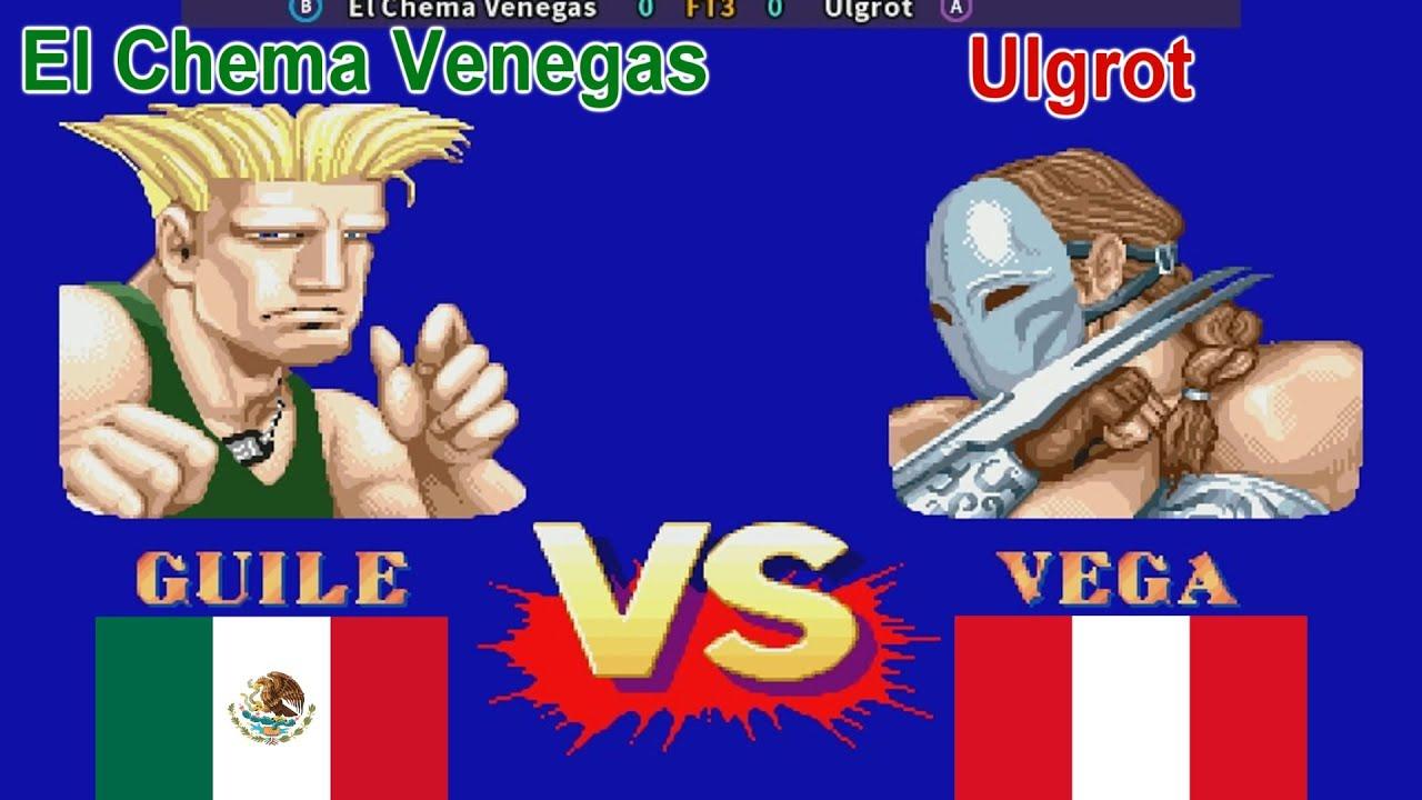 Street Fighter II': Champion Edition - El Chema Venegas vs Ulgrot FT3