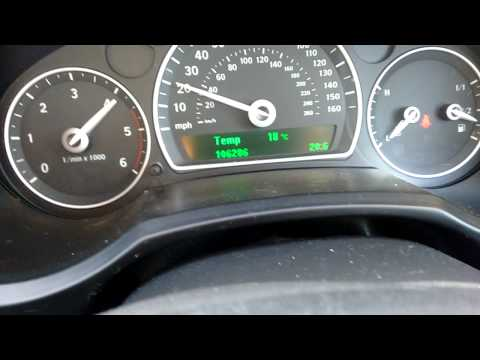 Saab 9-3 1 9 TiD limited performance problems Part 1 - YouTube