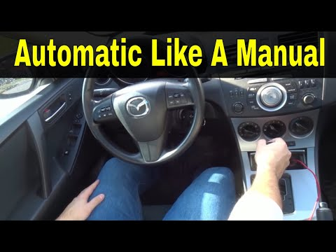 How To Drive An Automatic Car Like A Manual-Driving Tutorial