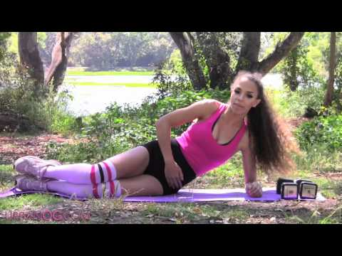 flat-abs-&-muffin-top-workout-at-home!-10-minute-flat-sexy-abs-workout