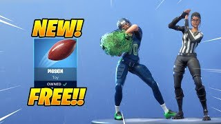 *NEW* FREE PIGSKIN TOY & CHEER UP & TIME OUT EMOTES! Fortnite Item Shop February 3rd, 2019