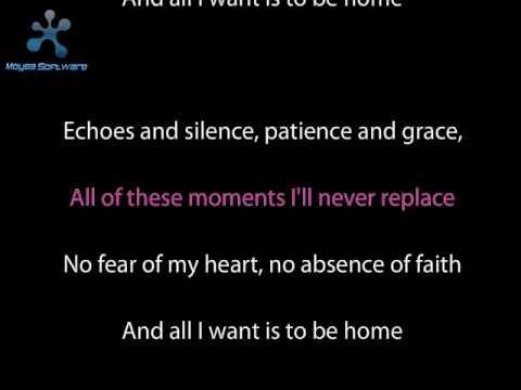 Foo Fighters - Home karaoke