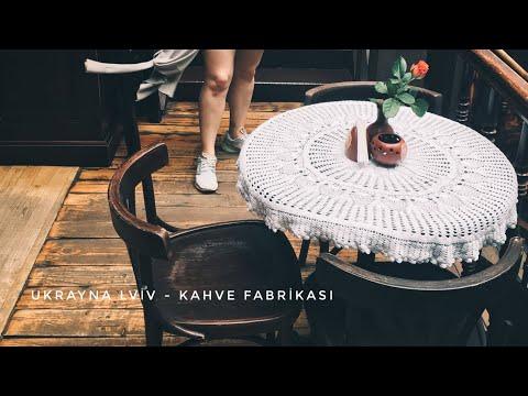 Lviv Gezisi I (Ukraine-Lviv) / Coffee Mining Manufacturer (Kahve Fabrikası)