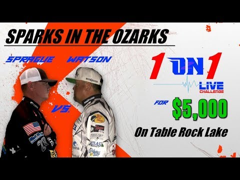 1 ON 1 LIVE - SPRAGUE VS WATSON ON TABLE ROCK FOR $5,000