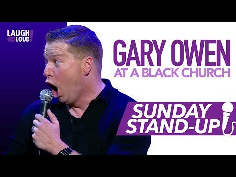 Gary Owen at a Black Church | Sunday Stand-Up | LOL Network