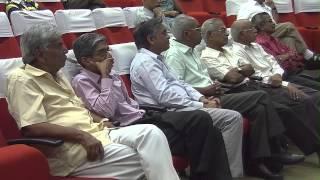 IITM - IAR Prof.B R Sen Gupto Leadership Lecture Series- Dr. E G Ramachandran