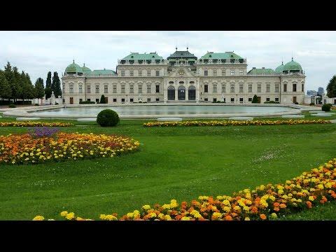 VIENA y Palacios de Belvedere y Schönbrunn. Vals del Emperador de Johann Strauss por Andre Rieu.