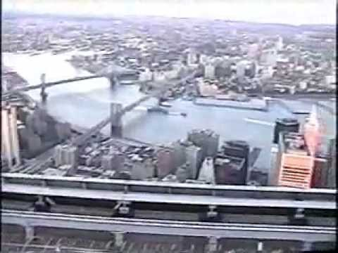 En la terraza del World Trade Center - On the rooftop of the World Trade Center