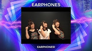 C3AFASG18 EARPHONES video message for fans! Catch their performance...