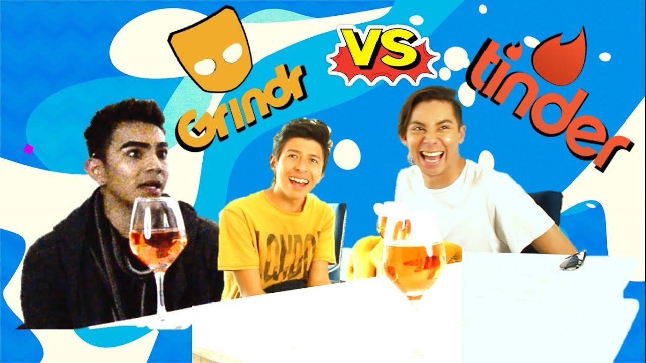 GRINDR VS TINDER (con Diego Carrera, Fidel Priego y Alexis