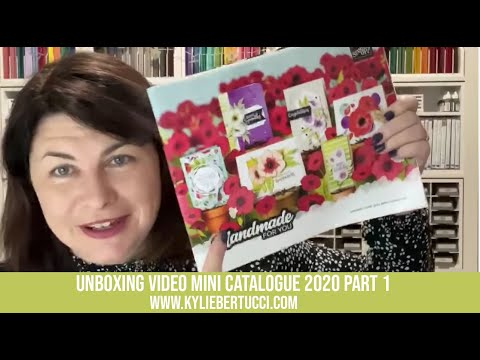 Stampin' Up!® Mini Catalogue Pre-Order Unboxing