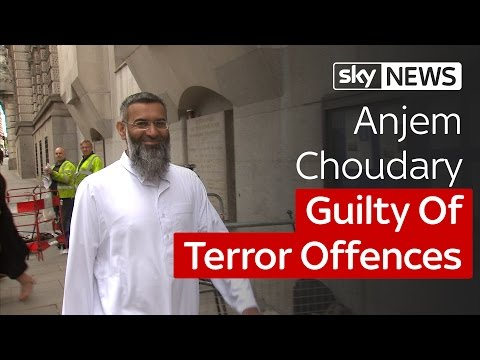 Anjem Choudary Found Guilty Of Terror Offences