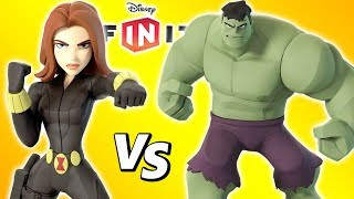 VIUVA NEGRA VS HULK no Disney Infinity 3.0 Toy Box BOSS BATTLE
