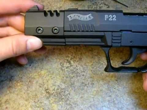 Disassembly Walther P22 Walther P22 Assembly With