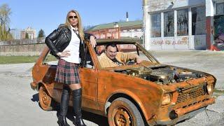 Bosanska seljačina vozi djevojku na posao