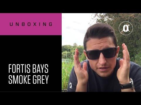 CARPologyTV - Fortis Eyewear Bays Smoke Grey Polarised Sunglasses Unboxing Review