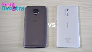 Moto G5S Plus vs Nokia 6 SpeedTest Comparison