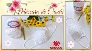Máscara de Crochê Por Vanessa Marcondes