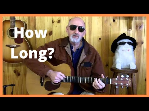 How Long Blues Guitar Lesson (Leroy Carr) - Acoustic Fingerstyle Blues