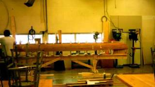 Clio High School Wood Shop Canoe Project Video 3