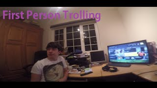 FIRST PERSON TROLLING! Thumbnail