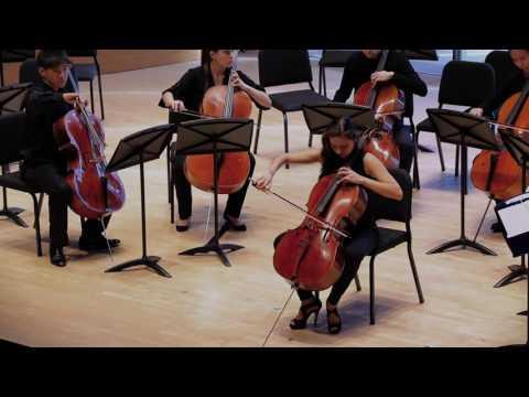 Northwestern University Cello Ensemble promotional video