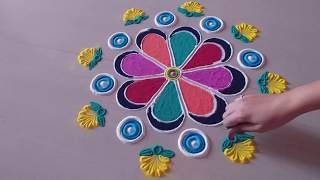 Top beautiful Rangoli जो आप भी बना लेंगे easy rangoli colourful rangoli top rangoli design