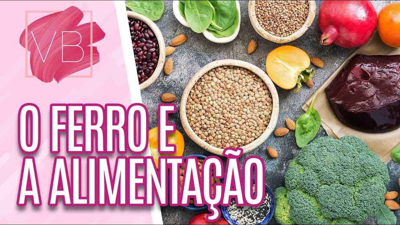 A importância do ferro na nossa alimentação - Você Bonita (17/06/21)