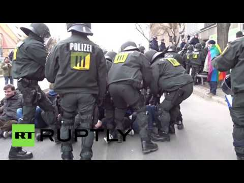 В Штутгарте протест