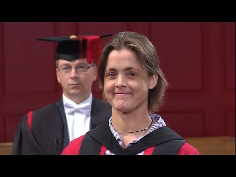 Sarah Outen MBE - Honorary Degree - University of Leicester