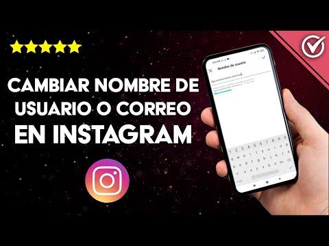 Cómo Cambiar mi Nombre de Usuario o Correo en Instagram sin Esperar 14 días