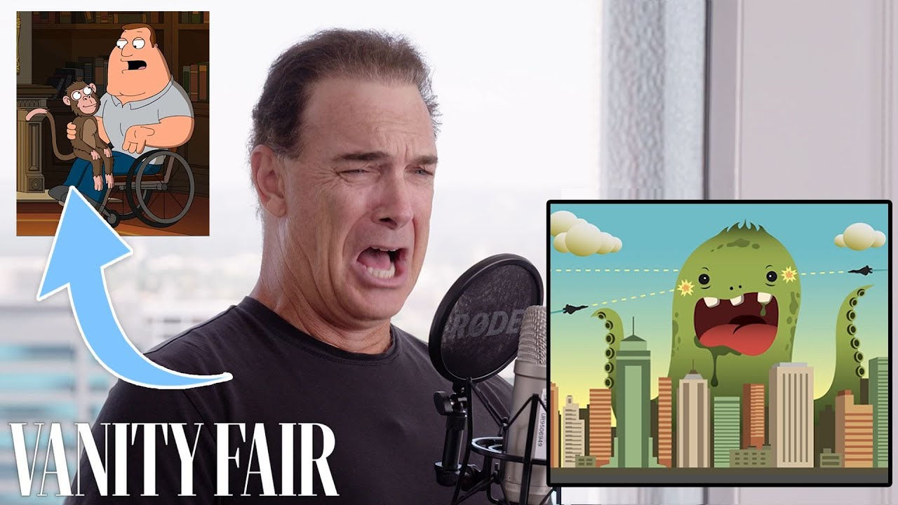 Patrick Warburton (Joe Swanson) Improvises 9 New Cartoon Voices