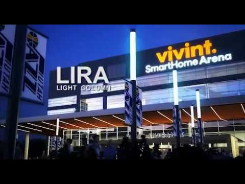 NLS Lighting | Lira Light Column at Vivint.SmartHome Arena