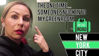 The One Time Someone Snuck Into My Green Room - AJOTR New York