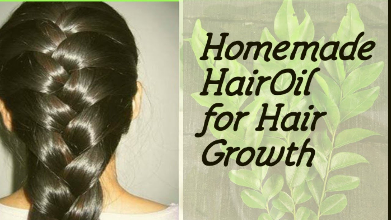 Homemade hair oil for Hair growth Stops Hair Fall within a Week | English Subtitles | Curry leaves