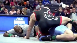 nc state wrestling 2016 acc championship highlights
