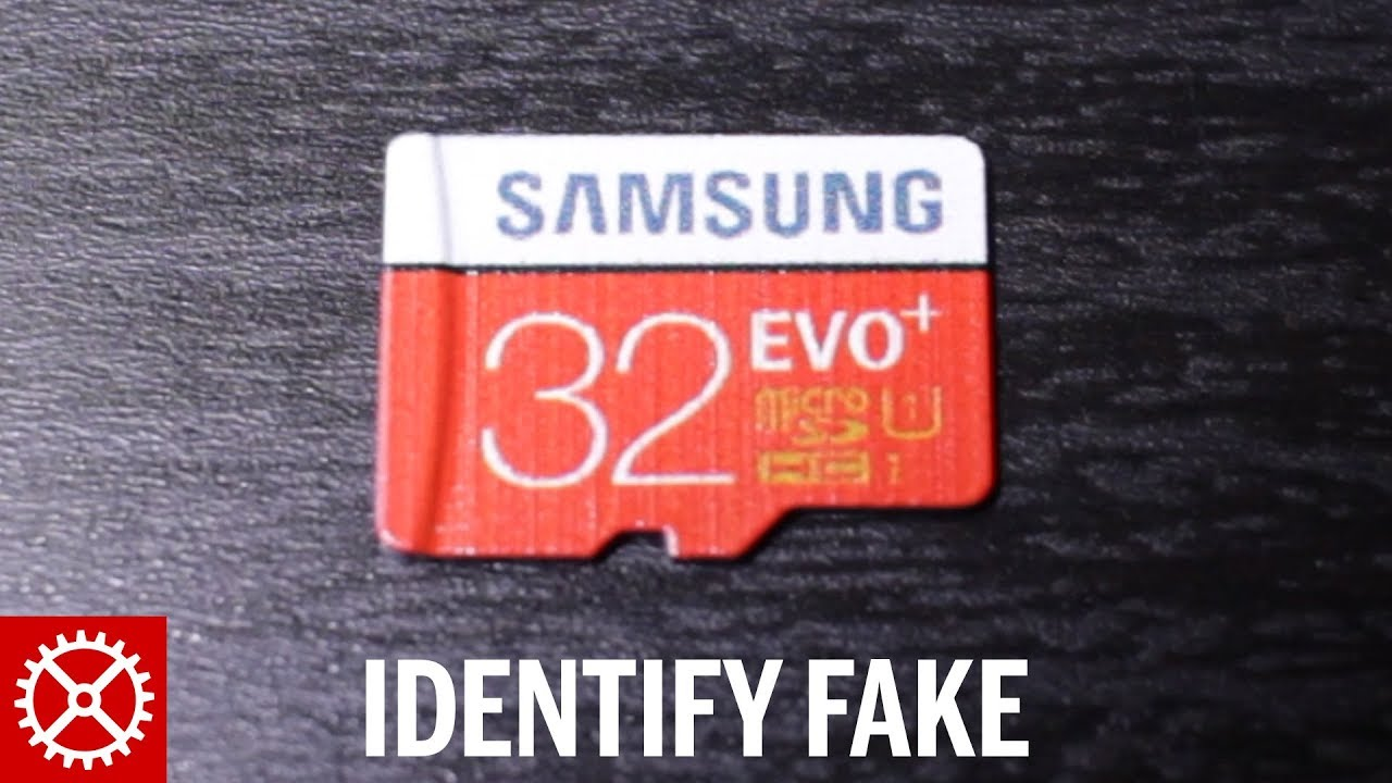 a998d3a93f1 How to Identify a Fake Samsung Micro SD Memory Card - YouTube