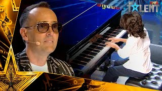 The child who was learned to PLAY THE PIANO alone | Auditions 6 | Spain's Got Talent 2021