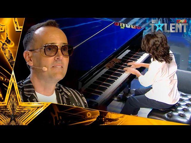 El niño que ha aprendido a TOCAR EL PIANO solo y sin ayuda   Audiciones 6   Got Talent España 2021