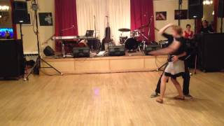Contemporary Blues Dance Routine-- Joe DeMers & Julie Brown
