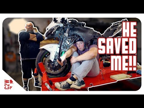 I HAD to call for HELP! [Wrecked Bike Rebuild - S2 - Ep 06]