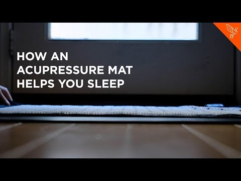 How An Acupressure Mat Helps You Sleep