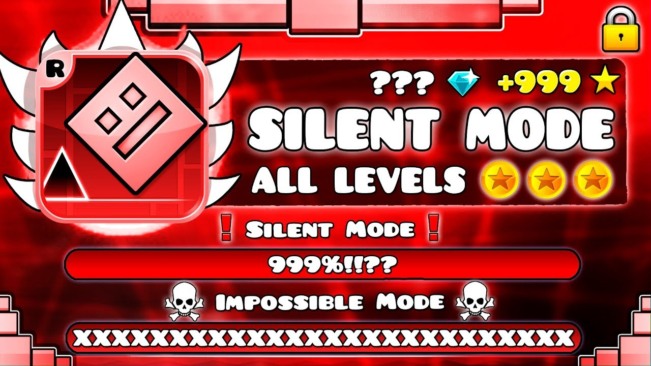 "[OFFICIAL] ""All Levels in IMPOSSIBLE MODE of the ORIGINAL Geometry Dash"" !!!"