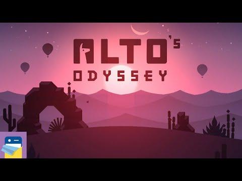 Alto's Odyssey: Maya & Felipe, Wall Riding & More + iOS iPhone Gameplay Walkthrough (by Snowman)