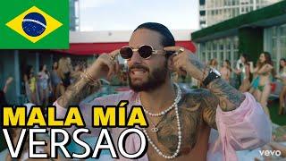 Maluma - Mala Mía (Tradução/Versão em Português) #malamía #malamia #maluma