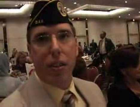 Day 70 Veteran Backs Hillary at NH Jefferson Jackson Dinner