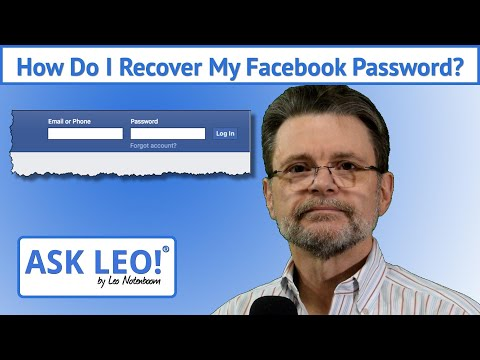 How to log in facebook if forgot password